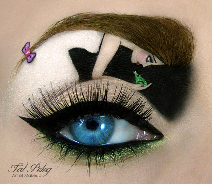 Top 10 Crazy Cool Eye Makeup Seenox