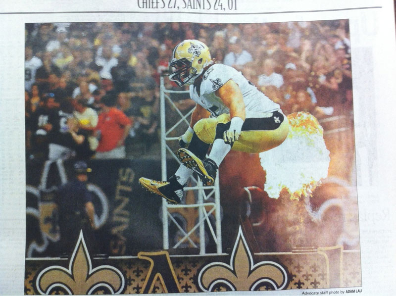 saints-football-fart-newspaper-perfect-timing