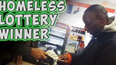 Kind-Hearted Person Gives Homeless Man a ''Winning Lottery Ticket'. What Happens Next Will Make You Cry.