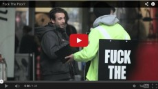 The Hypocrisy Of Our Society: F*ck The Poor? – A Brilliant Social Experiment And Its Shocking Results!