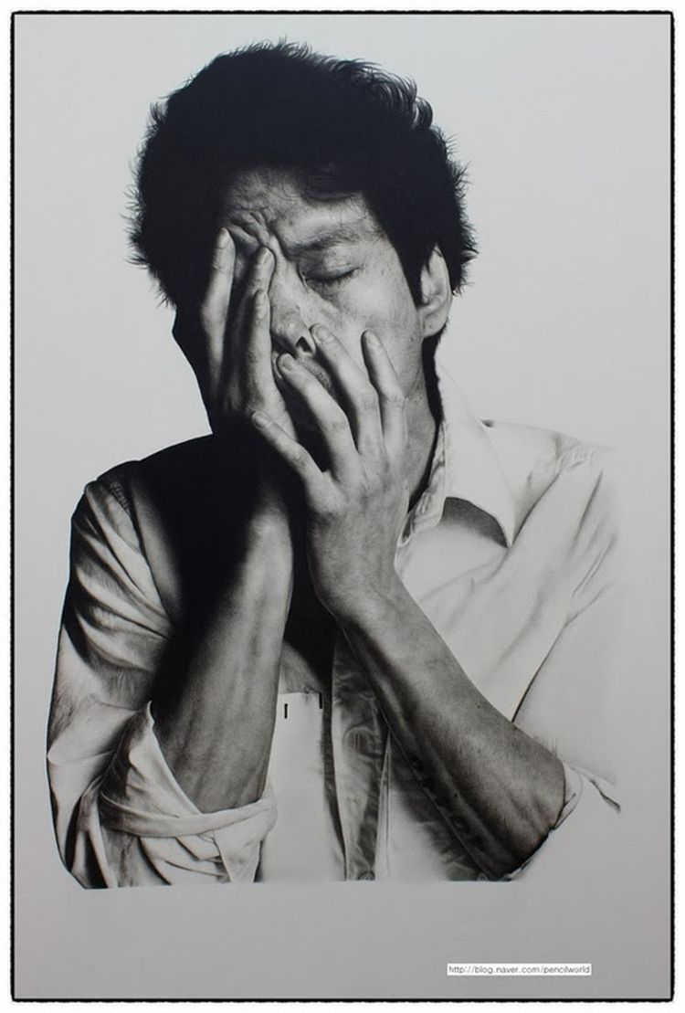 Extreme photorealism skills when you are able to draw your image credits kim ji hoon ccuart Image collections