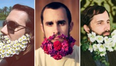 Men With Fabulous Flower Beards! A New Trend?