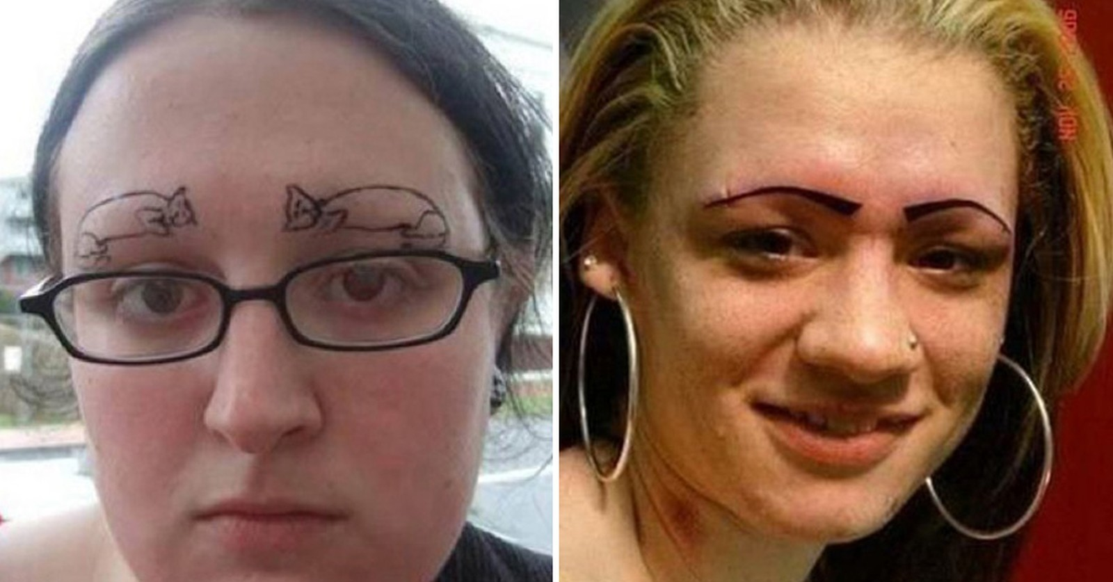 30 hilarious and awkward eyebrow fails 8 will make you