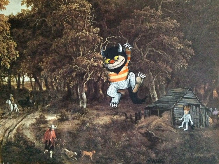 Pop-Culture-Characters-In-Store-Paintings-17