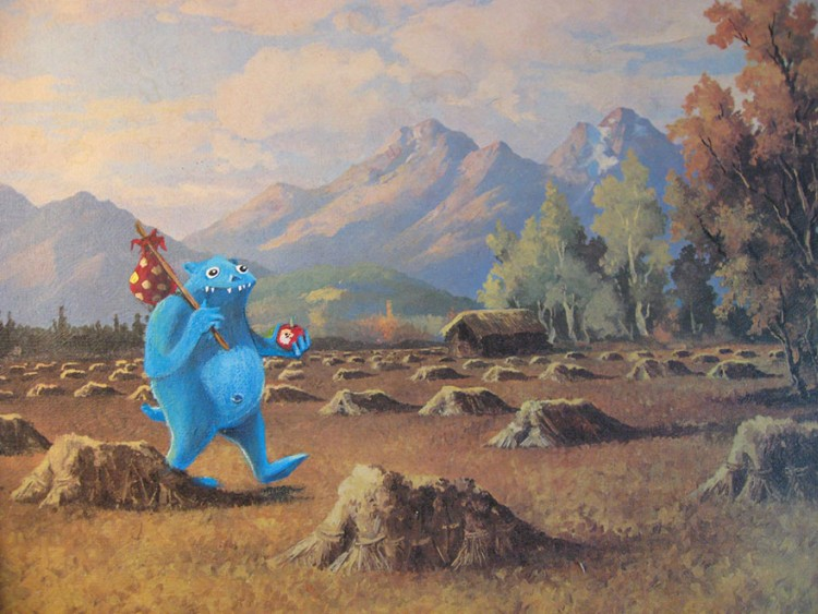 Pop-Culture-Characters-In-Store-Paintings-18