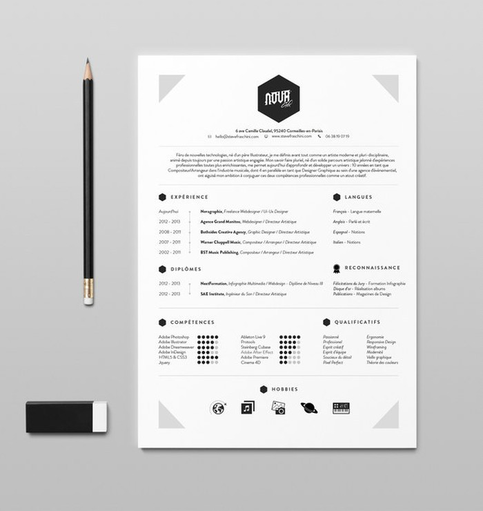 27 magnificent cv designs that will outshine all the