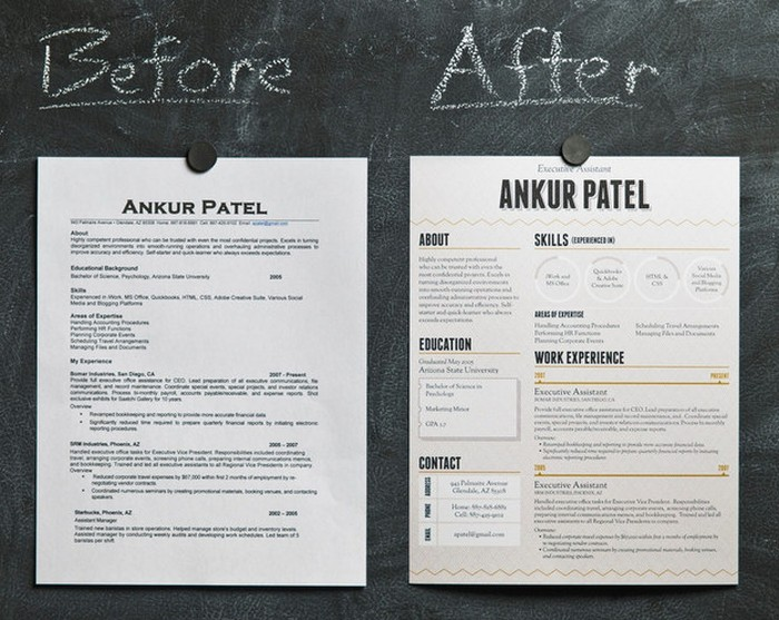 27 Magnificent CV Designs That Will Outshine All The Others!