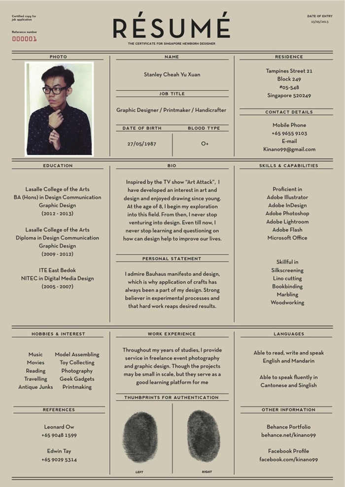 27 magnificent cv designs that will outshine all the others