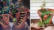 Turn Your Broken Pots Into Adorable DIY Fairy Worlds!