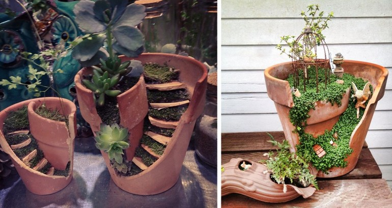 Turn-Broken-Pots-Into-Beautiful-Garden-DIY-Feature
