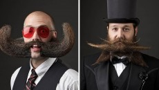 Facial Hair Can Be Art! Top 10 World Beard & Moustache Championships 2014