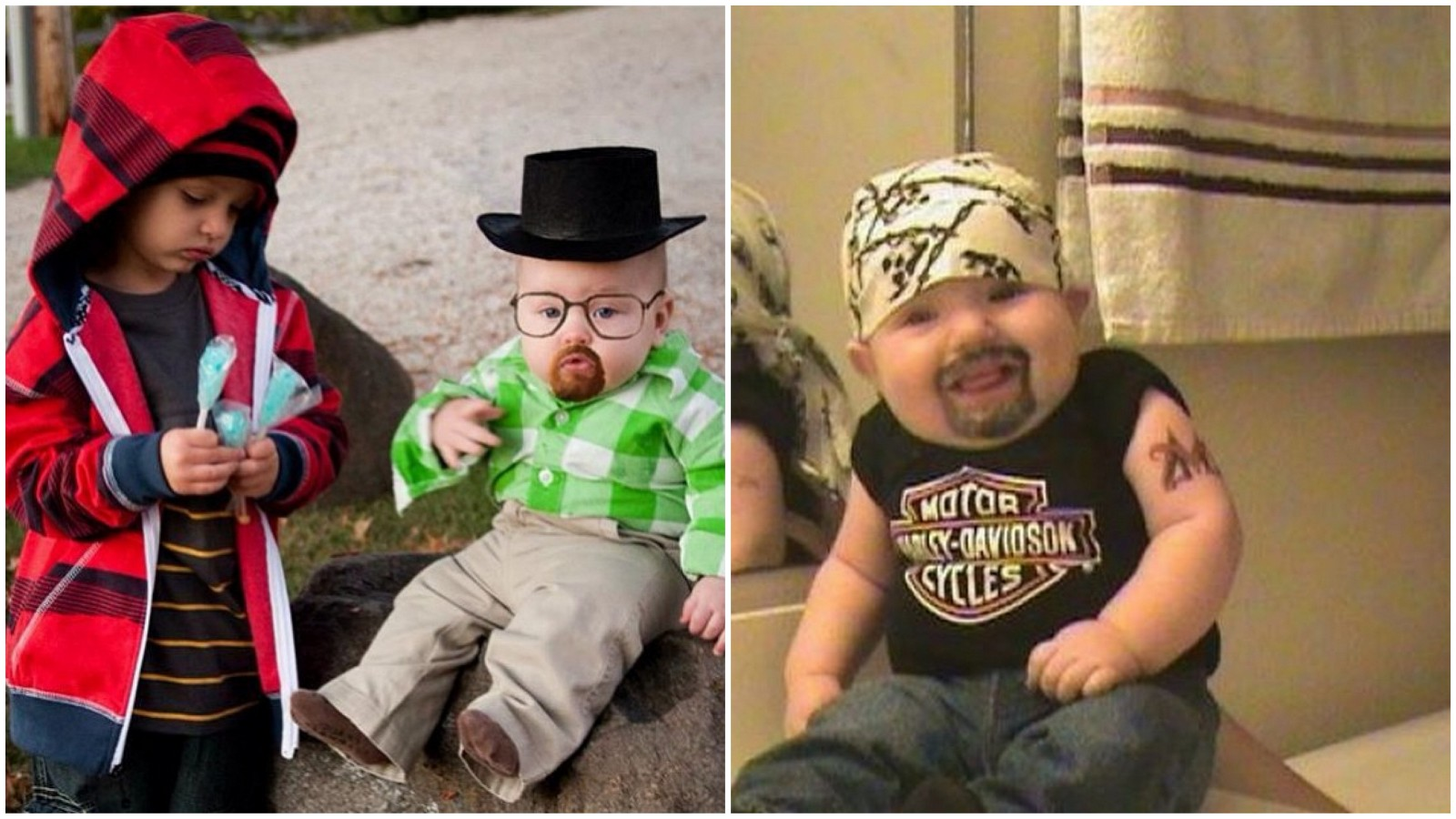 Most Shocking Extremely Funny Halloween Baby